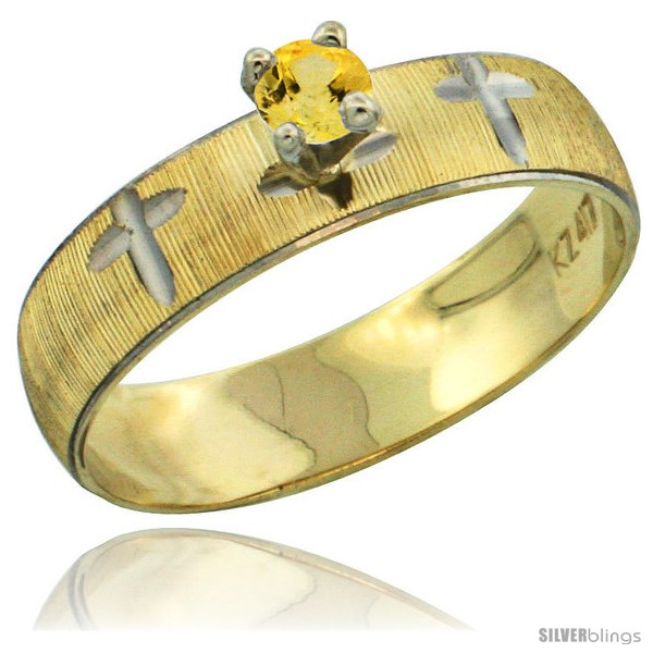 https://www.silverblings.com/33235-thickbox_default/10k-gold-ladies-solitaire-0-25-carat-yellow-sapphire-engagement-ring-diamond-cut-pattern-rhodium-accent-3-16-style-10y508er.jpg