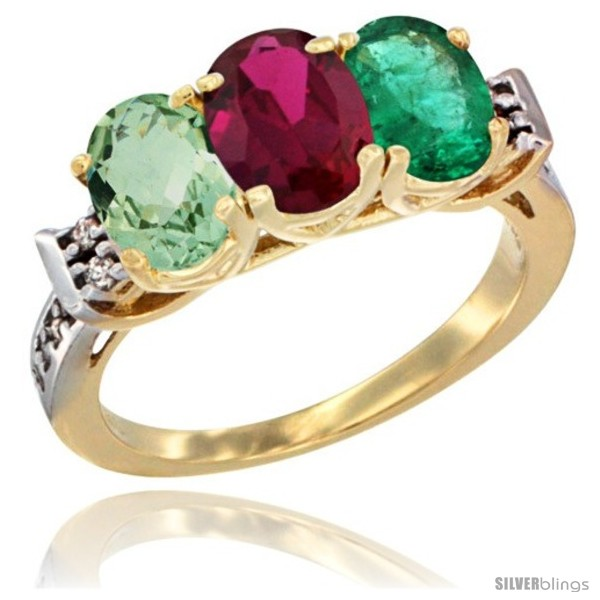 https://www.silverblings.com/3356-thickbox_default/10k-yellow-gold-natural-green-amethyst-ruby-emerald-ring-3-stone-oval-7x5-mm-diamond-accent.jpg
