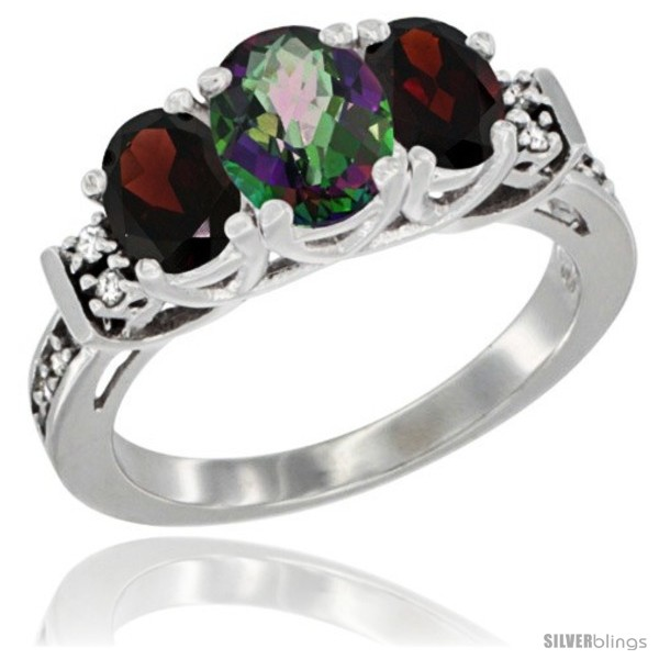https://www.silverblings.com/3385-thickbox_default/14k-white-gold-natural-mystic-topaz-garnet-ring-3-stone-oval-diamond-accent.jpg