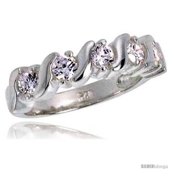 https://www.silverblings.com/3407-thickbox_default/highest-quality-sterling-silver-1-4-in-6-mm-wide-swirl-design-wedding-band-brilliant-cut-cz-stones.jpg
