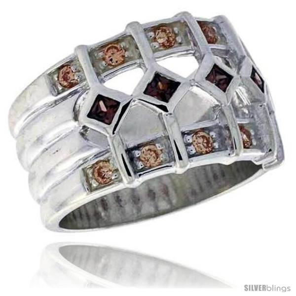 https://www.silverblings.com/3425-thickbox_default/highest-quality-sterling-silver-1-2-in-13-mm-wide-ladies-right-hand-ring-princess-cut-smoky-topaz-colored-brilliant-cut.jpg