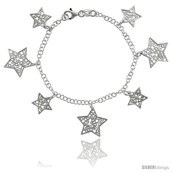 https://www.silverblings.com/34492-thickbox_default/sterling-silver-7-5-in-filigree-star-charm-bracelet.jpg
