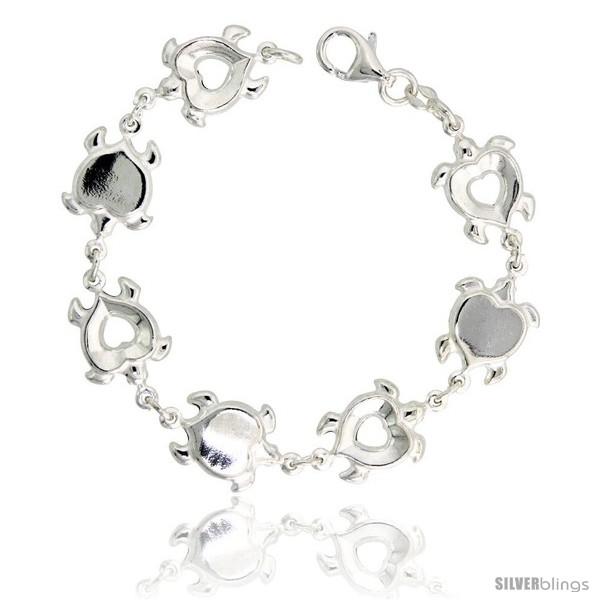 https://www.silverblings.com/34528-thickbox_default/sterling-silver-heart-shaped-turtle-link-bracelet-1-2-13-mm-wide.jpg