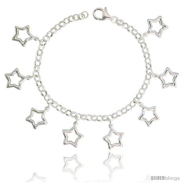 https://www.silverblings.com/34534-thickbox_default/sterling-silver-charm-bracelet-w-puffy-stars-cut-outs-11-16-17-mm-wide.jpg