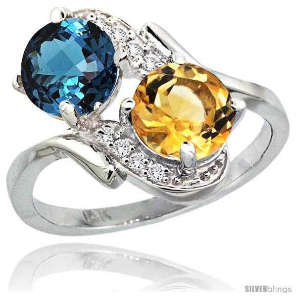 https://www.silverblings.com/3573-thickbox_default/14k-white-gold-7-mm-double-stone-engagement-london-blue-topaz-citrine-ring-w-0-05-carat-brilliant-cut-diamonds-2-34.jpg