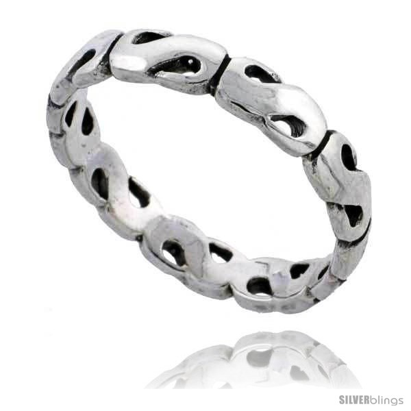 https://www.silverblings.com/35966-thickbox_default/sterling-silver-polished-s-link-wedding-band-ring-1-4-in-wide.jpg
