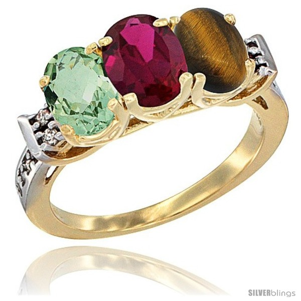 https://www.silverblings.com/3601-thickbox_default/10k-yellow-gold-natural-green-amethyst-ruby-tiger-eye-ring-3-stone-oval-7x5-mm-diamond-accent.jpg