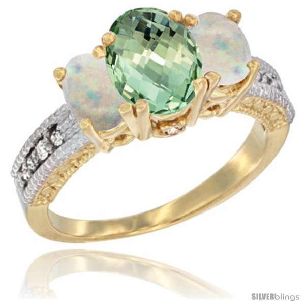 https://www.silverblings.com/36977-thickbox_default/10k-yellow-gold-ladies-oval-natural-green-amethyst-3-stone-ring-opal-sides-diamond-accent.jpg