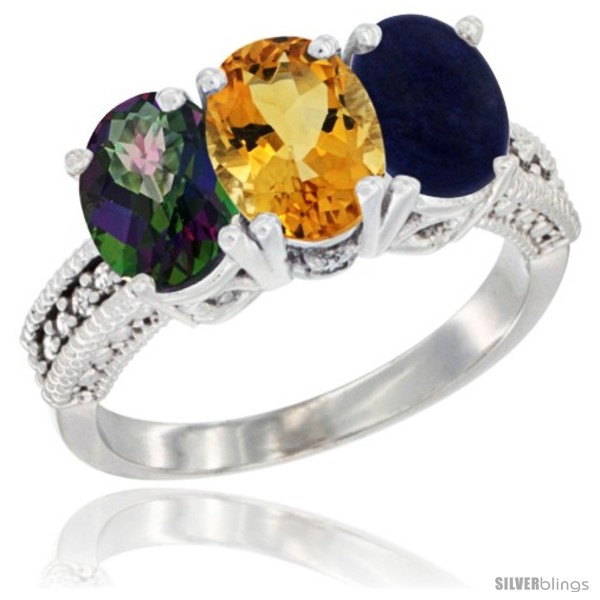 https://www.silverblings.com/3711-thickbox_default/10k-white-gold-natural-mystic-topaz-citrine-lapis-ring-3-stone-oval-7x5-mm-diamond-accent.jpg