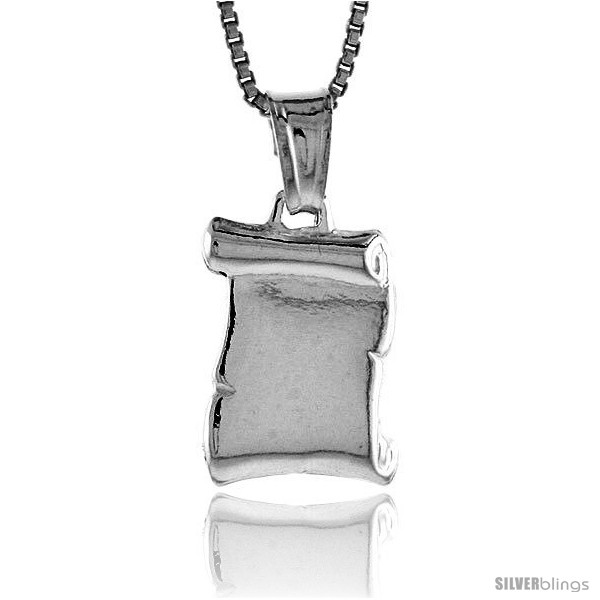 https://www.silverblings.com/37356-thickbox_default/sterling-silver-plain-scroll-pendant-made-in-italy-9-16-in-15-mm-tall.jpg