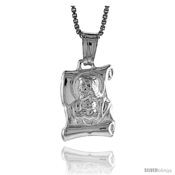 https://www.silverblings.com/37360-thickbox_default/sterling-silver-jesus-scroll-pendant-made-in-italy-9-16-in-15-mm-tall.jpg