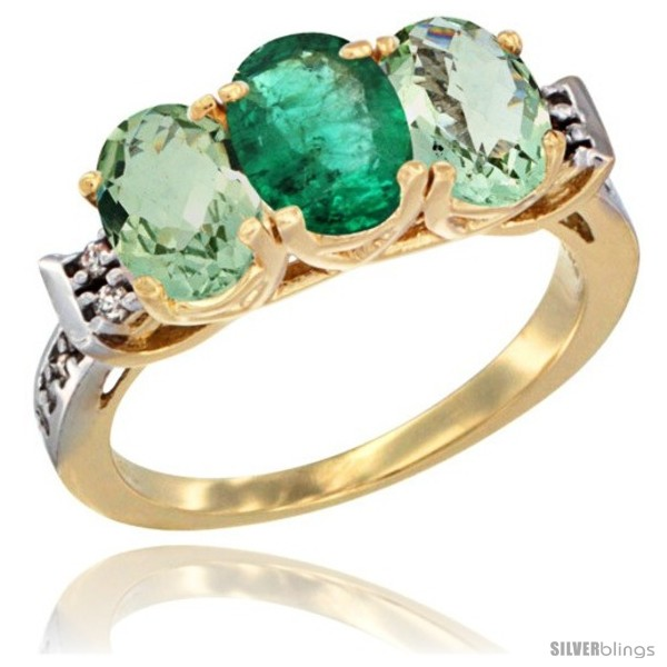 https://www.silverblings.com/3845-thickbox_default/10k-yellow-gold-natural-emerald-green-amethyst-sides-ring-3-stone-oval-7x5-mm-diamond-accent.jpg