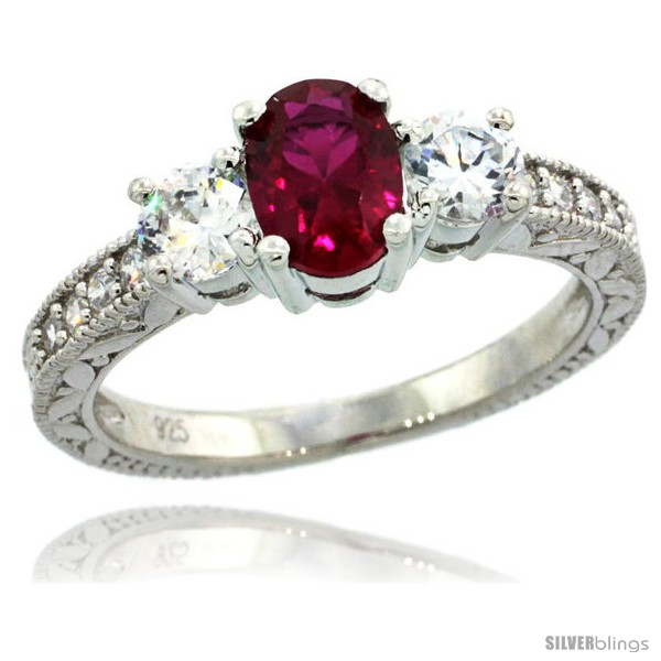 https://www.silverblings.com/38467-thickbox_default/sterling-silver-3-stone-vintage-style-engagement-ring-w-oval-cut-7x5-mm-ruby-red-color-brilliant-cut-cz-stones-1-4-in.jpg