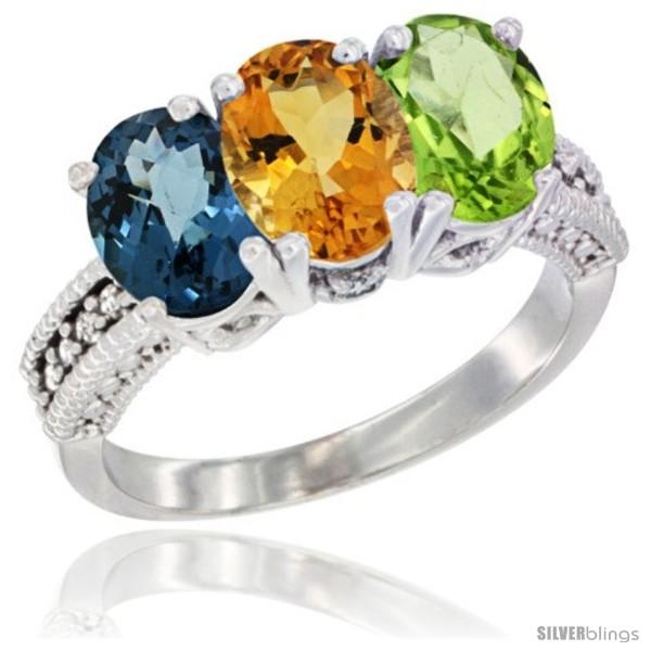 https://www.silverblings.com/38924-thickbox_default/14k-white-gold-natural-london-blue-topaz-citrine-peridot-ring-3-stone-7x5-mm-oval-diamond-accent.jpg