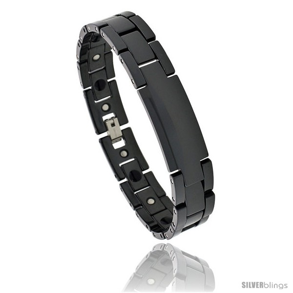 https://www.silverblings.com/392-thickbox_default/ceramic-black-id-bracelet-magnetic-therapy-7-16-in-wide.jpg