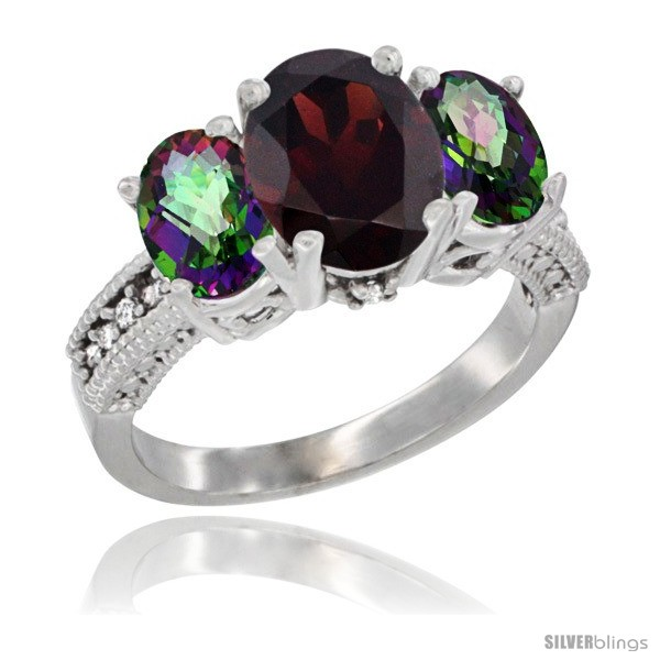 https://www.silverblings.com/3925-thickbox_default/10k-white-gold-ladies-natural-garnet-oval-3-stone-ring-mystic-topaz-sides-diamond-accent.jpg