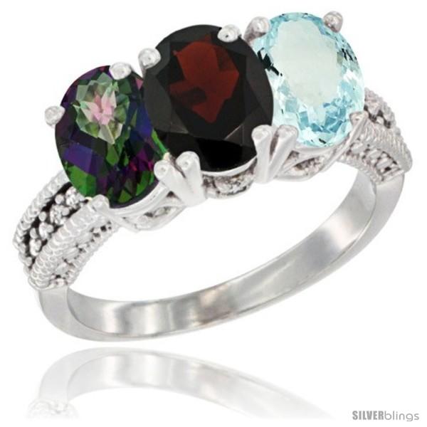 https://www.silverblings.com/3938-thickbox_default/10k-white-gold-natural-mystic-topaz-garnet-aquamarine-ring-3-stone-oval-7x5-mm-diamond-accent.jpg