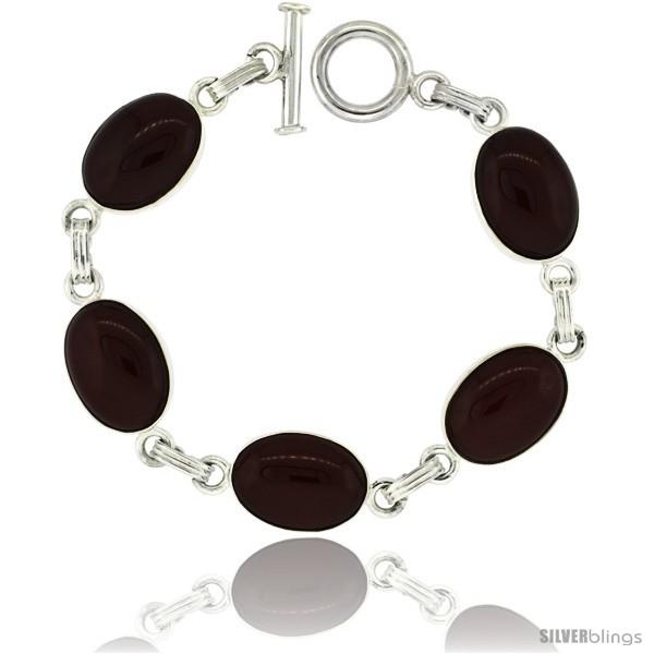 https://www.silverblings.com/39420-thickbox_default/sterling-silver-natural-carnelian-stone-jet-resin-inlay-link-bracelet.jpg