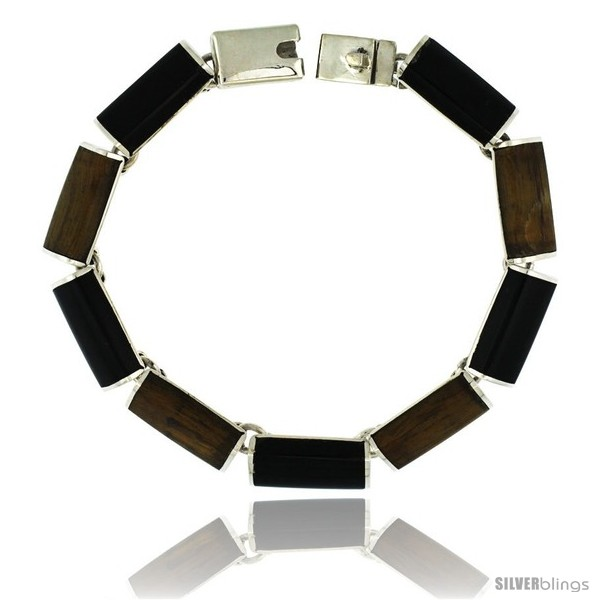 https://www.silverblings.com/39430-thickbox_default/sterling-silver-black-obsidian-tiger-eye-stone-bar-link-7-bracelet-3-8-in-wide.jpg