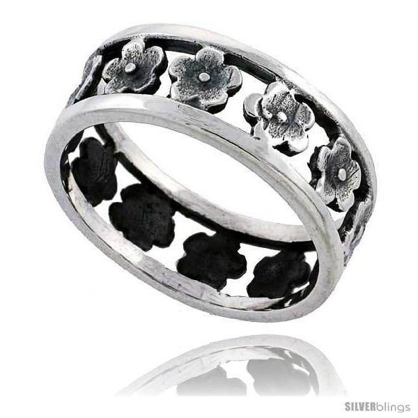 https://www.silverblings.com/39501-thickbox_default/sterling-silver-flower-wedding-band-ring-5-16-in-wide.jpg