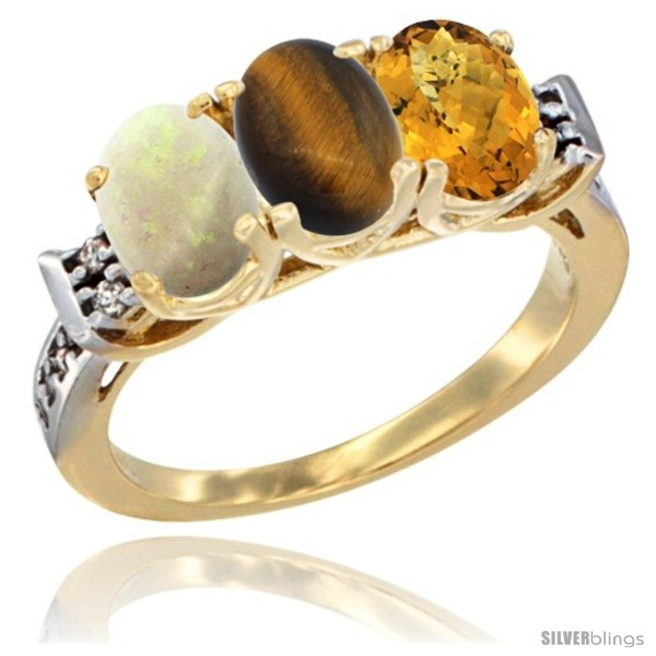 https://www.silverblings.com/39585-thickbox_default/10k-yellow-gold-natural-opal-tiger-eye-whisky-quartz-ring-3-stone-oval-7x5-mm-diamond-accent.jpg
