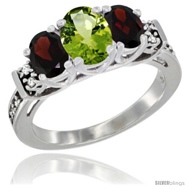 https://www.silverblings.com/3972-thickbox_default/14k-white-gold-natural-peridot-garnet-ring-3-stone-oval-diamond-accent.jpg
