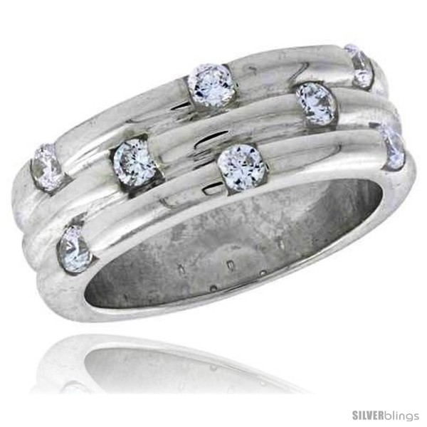 https://www.silverblings.com/3992-thickbox_default/highest-quality-sterling-silver-5-16-in-8-mm-wide-grooved-stone-band-brilliant-cut-cz-stones.jpg