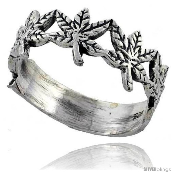 https://www.silverblings.com/40029-thickbox_default/sterling-silver-pot-leaf-ring-3-8-wide.jpg