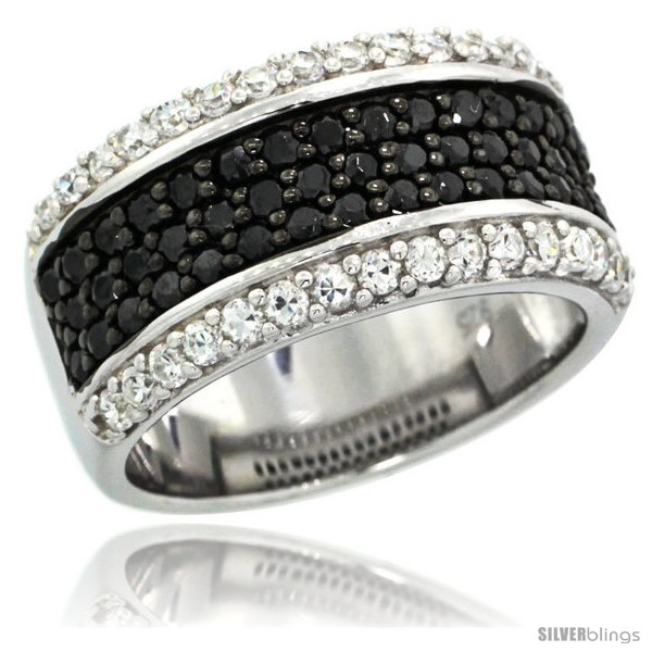 https://www.silverblings.com/40075-thickbox_default/sterling-silver-classic-black-white-cz-ring-band-3-8-in-10-mm-wide.jpg