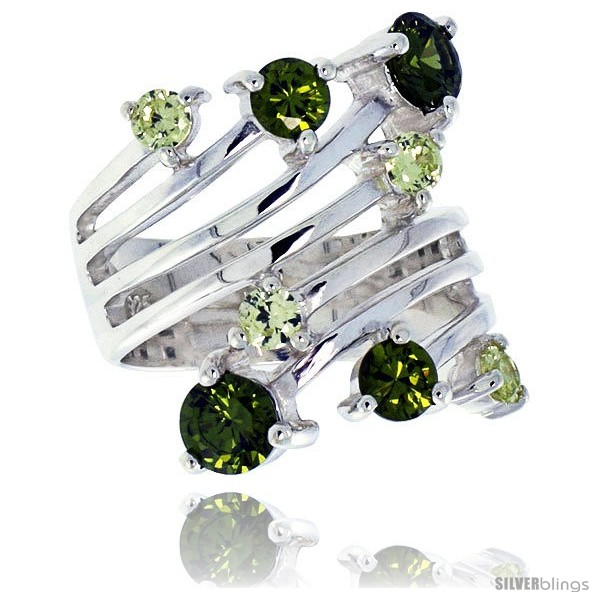 https://www.silverblings.com/4008-thickbox_default/highest-quality-sterling-silver-1-in-24-mm-wide-right-hand-ring-brilliant-cut-peridot-colored-cz-stones.jpg