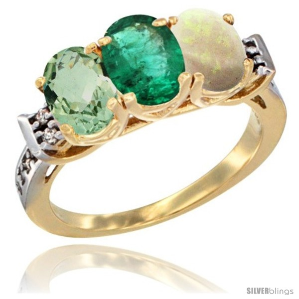 https://www.silverblings.com/4028-thickbox_default/10k-yellow-gold-natural-green-amethyst-emerald-opal-ring-3-stone-oval-7x5-mm-diamond-accent.jpg