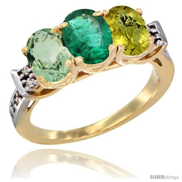https://www.silverblings.com/4034-thickbox_default/10k-yellow-gold-natural-green-amethyst-emerald-lemon-quartz-ring-3-stone-oval-7x5-mm-diamond-accent.jpg