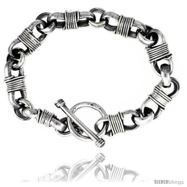 https://www.silverblings.com/40956-thickbox_default/sterling-silver-wire-wrapped-link-bracelet.jpg