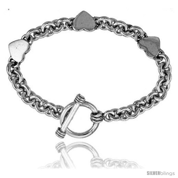 https://www.silverblings.com/40972-thickbox_default/sterling-silver-triple-solid-heart-rolo-link-bracelet.jpg