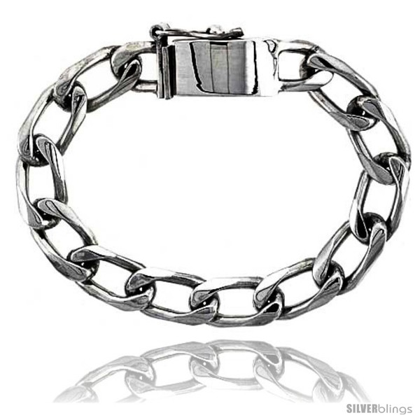 https://www.silverblings.com/41348-thickbox_default/gents-sterling-silver-cuban-link-bracelet-handmade-3-8-in-wide-style-lx219.jpg