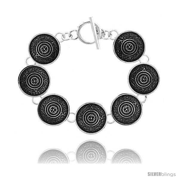 https://www.silverblings.com/41350-thickbox_default/sterling-silver-aztec-calendar-bracelet-toggle-clasp-handmade-3-4-in-wide-style-lx221.jpg