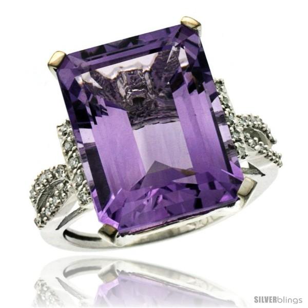 https://www.silverblings.com/41600-thickbox_default/10k-white-gold-diamond-amethyst-ring-12-ct-emerald-shape-16x12-stone-3-4-in-wide.jpg