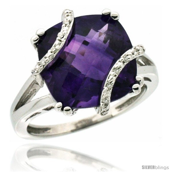 https://www.silverblings.com/41614-thickbox_default/10k-white-gold-diamond-amethyst-ring-7-5-ct-cushion-cut-12-mm-stone-1-2-in-wide.jpg