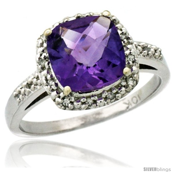 https://www.silverblings.com/41620-thickbox_default/10k-white-gold-diamond-amethyst-ring-2-08-ct-cushion-cut-8-mm-stone-1-2-in-wide.jpg