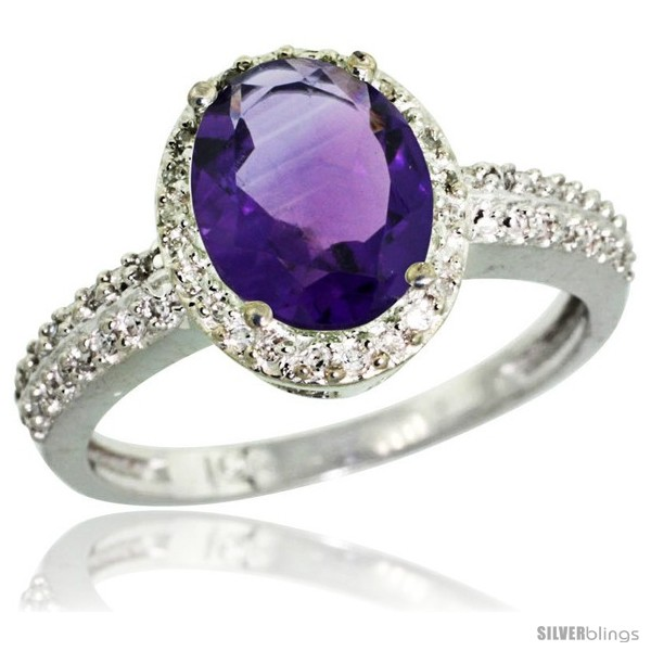 https://www.silverblings.com/41638-thickbox_default/10k-white-gold-diamond-amethyst-ring-oval-stone-9x7-mm-1-76-ct-1-2-in-wide.jpg