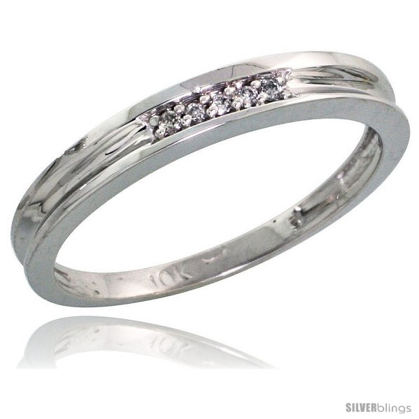 https://www.silverblings.com/41644-thickbox_default/10k-white-gold-ladies-diamond-wedding-band-ring-0-02-cttw-brilliant-cut-1-8-in-wide-style-ljw004lb.jpg