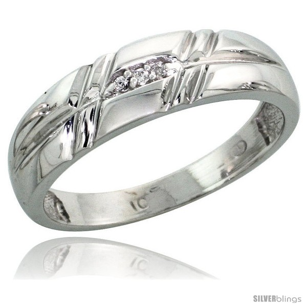 https://www.silverblings.com/41678-thickbox_default/10k-white-gold-ladies-diamond-wedding-band-ring-0-02-cttw-brilliant-cut-7-32-in-wide-style-ljw005lb.jpg