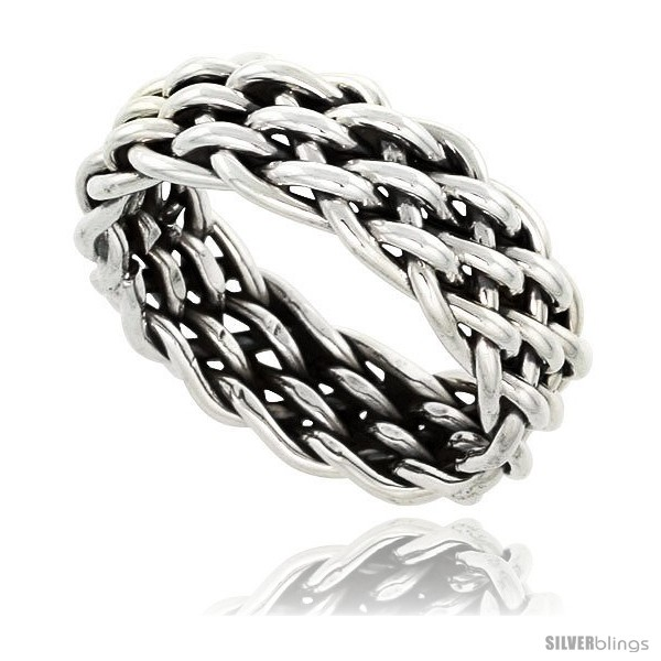 https://www.silverblings.com/41750-thickbox_default/sterling-silver-southwest-design-handmade-woven-wire-wrap-ring-3-8-in-wide.jpg
