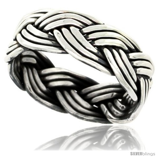 https://www.silverblings.com/41754-thickbox_default/sterling-silver-southwest-design-wire-braid-band-5-16-in-wide-handmade.jpg