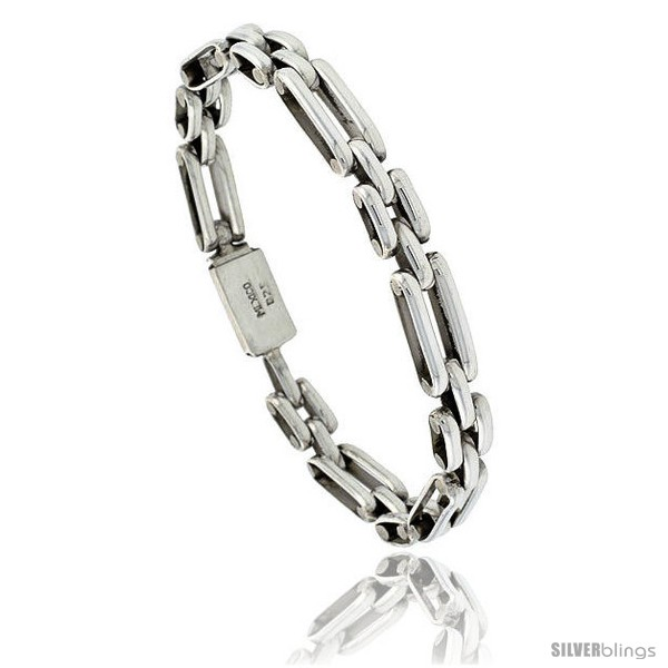 https://www.silverblings.com/41764-thickbox_default/sterling-silver-bar-link-bracelet-5-16-in-wide.jpg