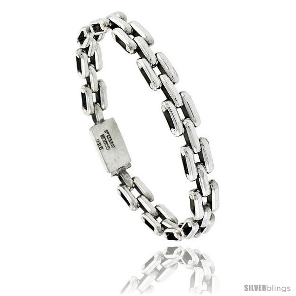 https://www.silverblings.com/41766-thickbox_default/sterling-silver-bar-link-bracelet-5-16-in-wide-style-lx406.jpg
