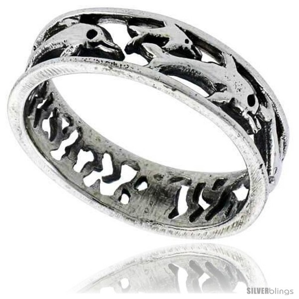 https://www.silverblings.com/41784-thickbox_default/sterling-silver-polished-multi-dolphin-wedding-band-ring-1-4-in-wide.jpg