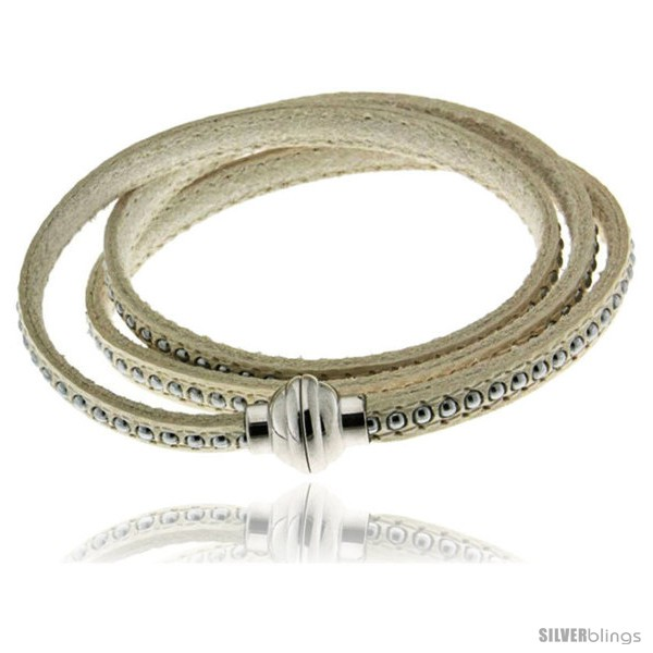 https://www.silverblings.com/418-thickbox_default/surgical-steel-italian-leather-wrap-massai-bracelet-inlaid-beads-w-super-magnet-clasp-color-white.jpg