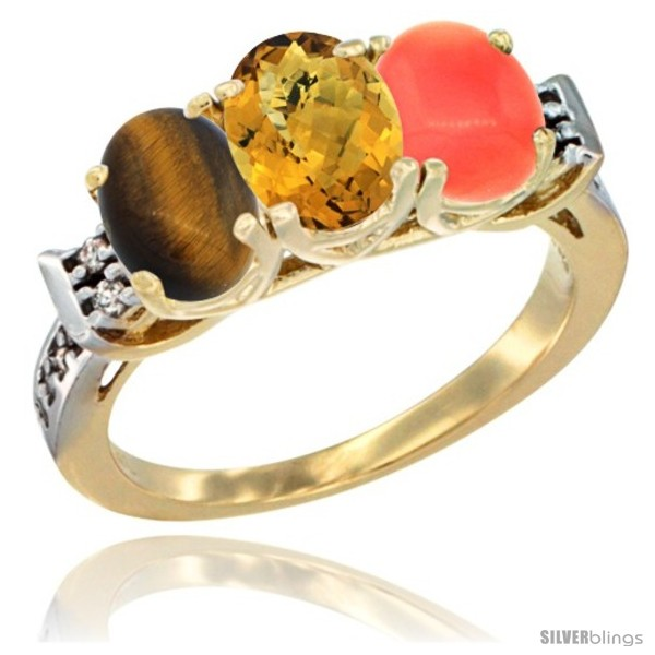 https://www.silverblings.com/41830-thickbox_default/10k-yellow-gold-natural-tiger-eye-whisky-quartz-coral-ring-3-stone-oval-7x5-mm-diamond-accent.jpg