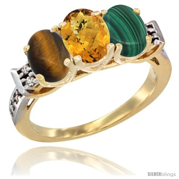 https://www.silverblings.com/41834-thickbox_default/10k-yellow-gold-natural-tiger-eye-whisky-quartz-malachite-ring-3-stone-oval-7x5-mm-diamond-accent.jpg